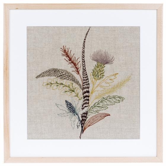 An autumnal bouquet of gathered thistles, greenery and feathers. A bundle of unlikely components, our Thistle artwork adds...