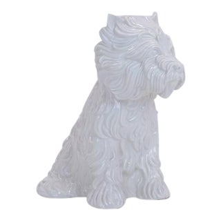Jeff Koons Puppy Vase For Sale