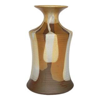 Mid Century Studio Pottery Vase For Sale