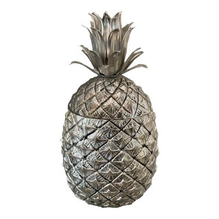Vintage Mauro Manetti Mid-Century Pineapple Ice Bucket For Sale