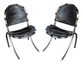 Image of Black Side Chairs