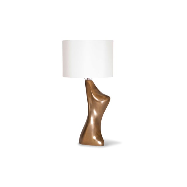 Amorph Helen Table Lamp, Gold Finish For Sale In Los Angeles - Image 6 of 9