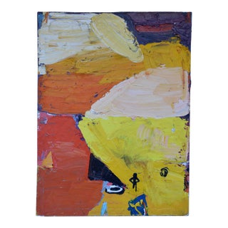 "Modern Abstract Painting by Theodore ""Ted"" Turner For Sale"
