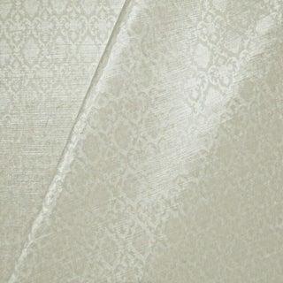 Transitional Rose Cumming Verdi Velvet Designer Fabric by the Yard For Sale