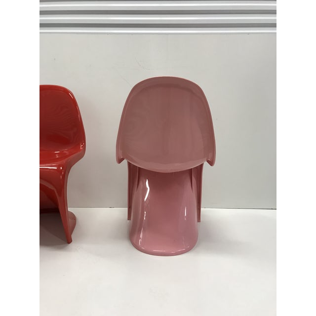 Pink Panton Chair - Image 4 of 6