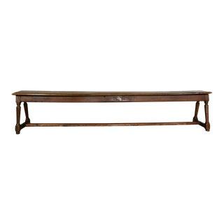Flemish Walnut Long Bench