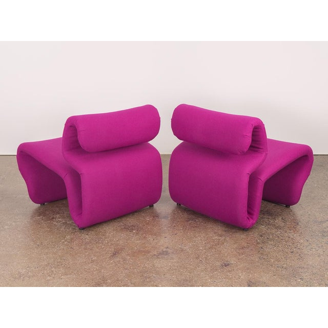 Sculpting Space Age Etcetera Chairs by Jan Ekselius - a Pair For Sale - Image 7 of 10