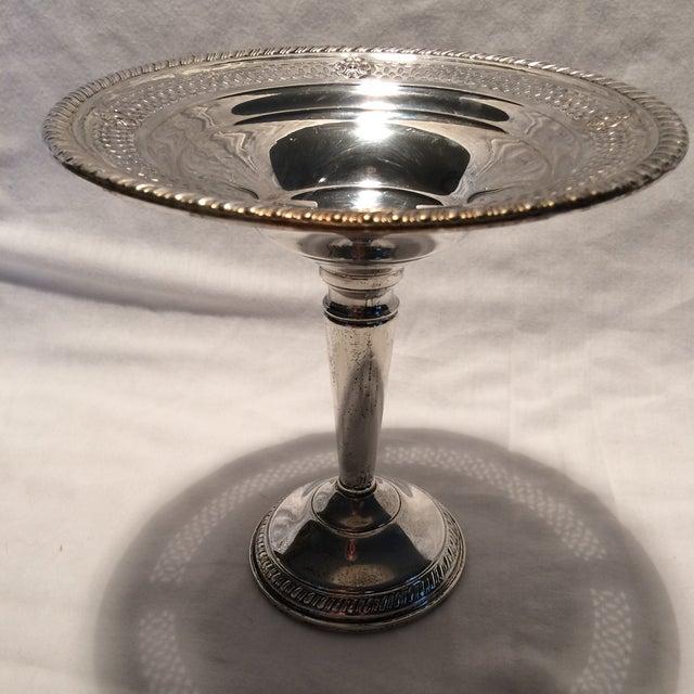 Vintage Sterling Silver Pedestal Dish - Image 5 of 10