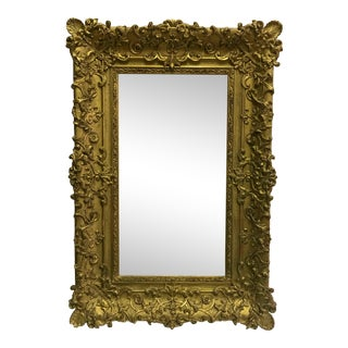 Antique French Frame Mirror For Sale