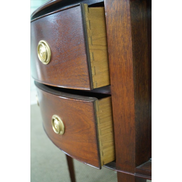 Baker Furniture Demilune Console - Image 6 of 10