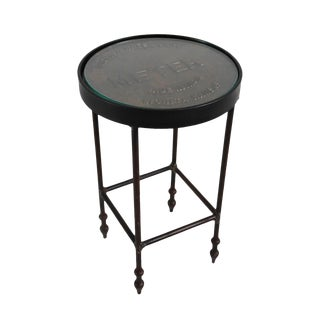 Iron Meter Cover Side Table