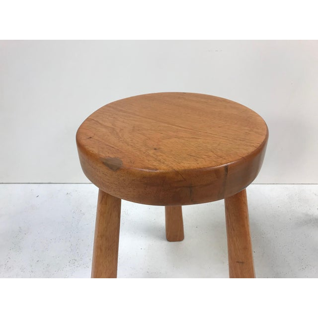 Charlotte Perriand Pair Charlotte Perriand Stools for Les Arcs For Sale - Image 4 of 5