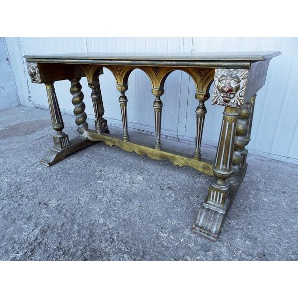 Shabby Chic Imperial Style Coffee Side Table - Image 2 of 8