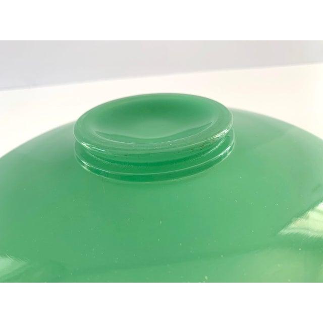Vintage Green Jadeite Glass Bowl For Sale In San Francisco - Image 6 of 8