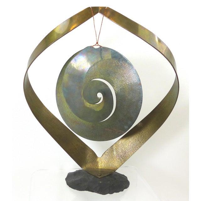 Vintage Brass Kinetic Sculpture - Image 2 of 10
