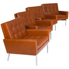 Image of Chestnut Club Chairs