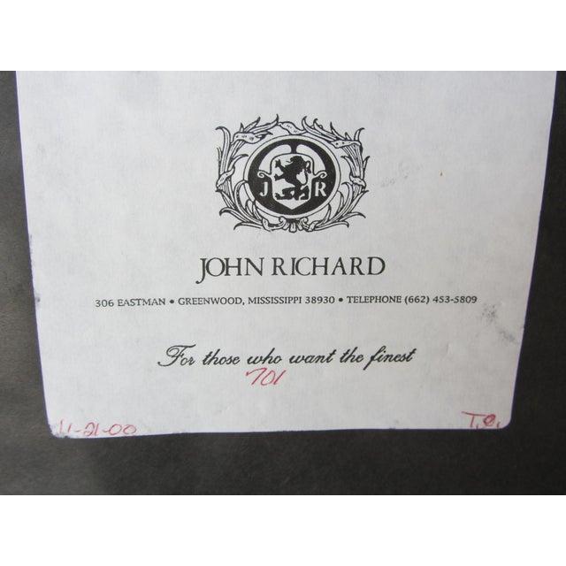 John Richard Small Mirror With Finials - Image 9 of 9
