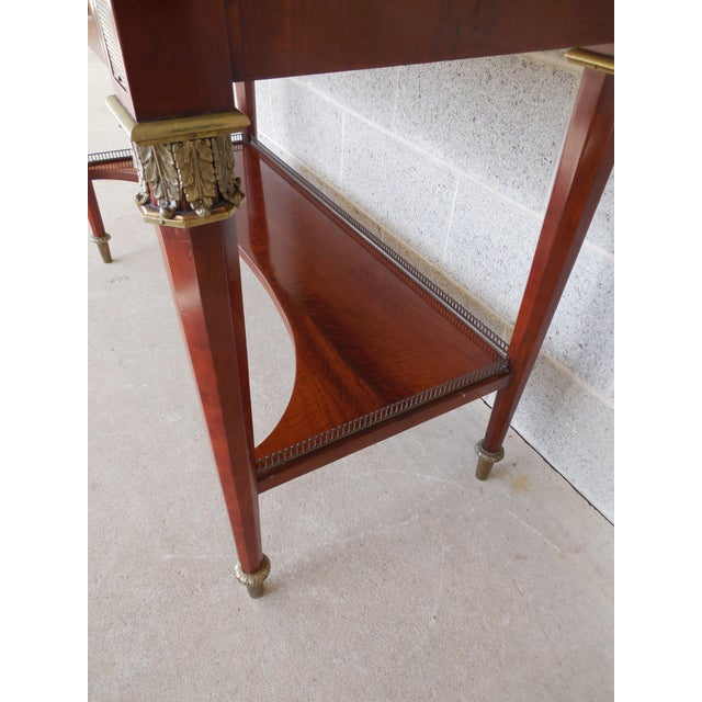 JOHN WIDDICOMB Neo-Classical Bronze Mounted Console Table For Sale In Philadelphia - Image 6 of 13