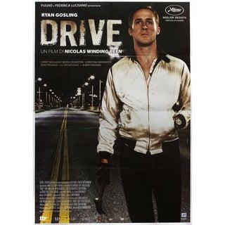 Drive 2011 Italian Quattro Fogli Film Poster For Sale