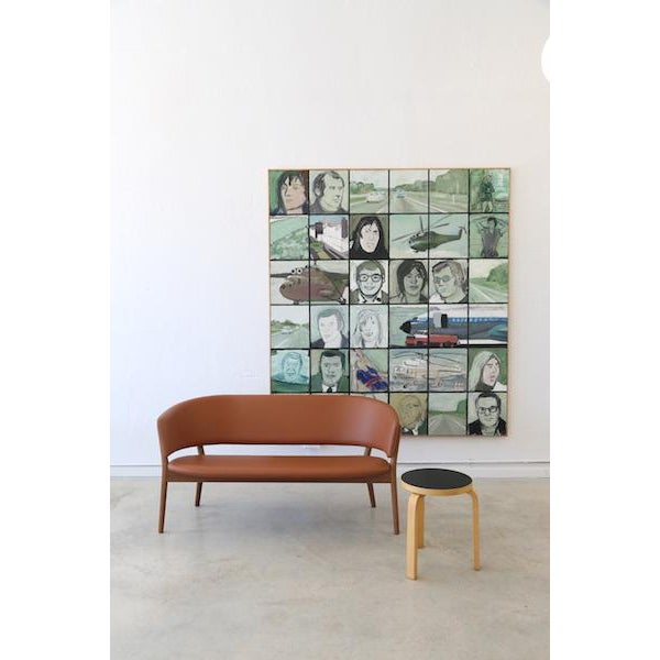 Brown Mid-Century Danish Nanna Ditzel for Snedkergaarden Shell Sofa For Sale - Image 8 of 9