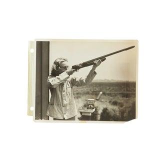 Vintage Carole Lombard Photograph Shooting For Sale