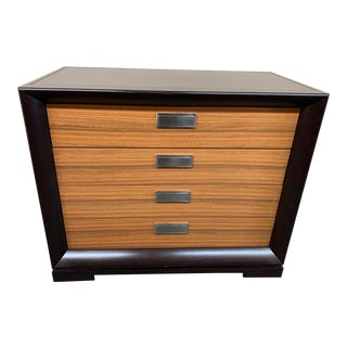 Michael Weiss for Vanguard Valentino Chest in Lacquer + Wenge For Sale