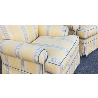 Fine Pair of Upholstered Living Room Club Armchairs Preview