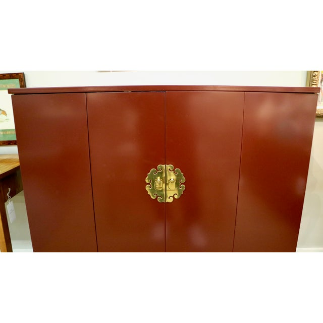 Paint Asian Lacquered Bar For Sale - Image 7 of 10