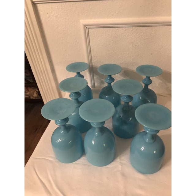 Asian Portieux Vallerysthal Water Goblets - Set of 8 For Sale - Image 3 of 7