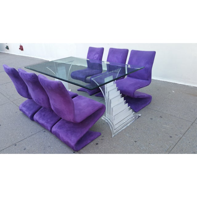 1980s Roger Rougier Dining Set - Image 2 of 7