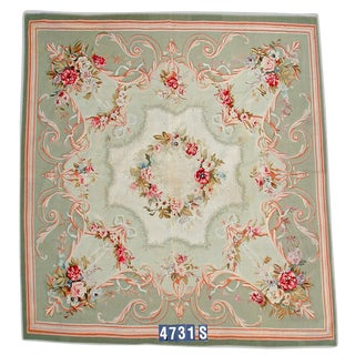 19th Century Aubusson Rug For Sale