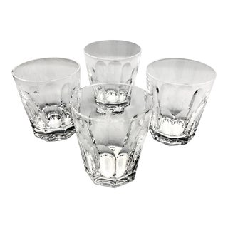 Vintage Waterford Crystal Old Fashion Glasses in Sheila Pattern, Signed - Set of 4 For Sale
