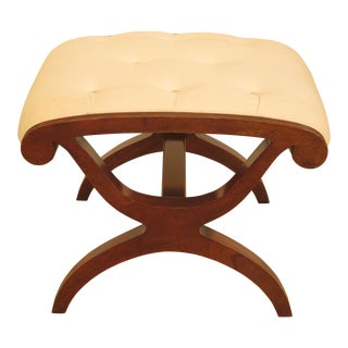 Kindel Winterthur Collection Mahogany Stool