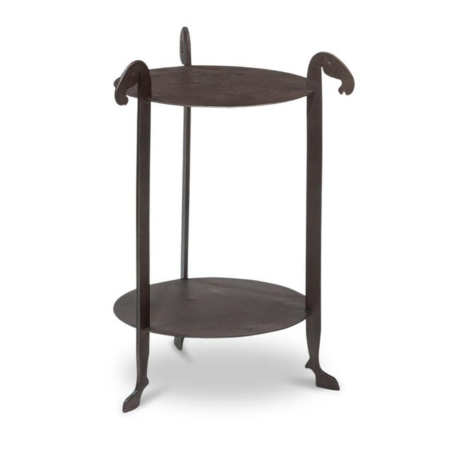 Sarreid Forged Horse Leg Side Table For Sale - Image 13 of 13