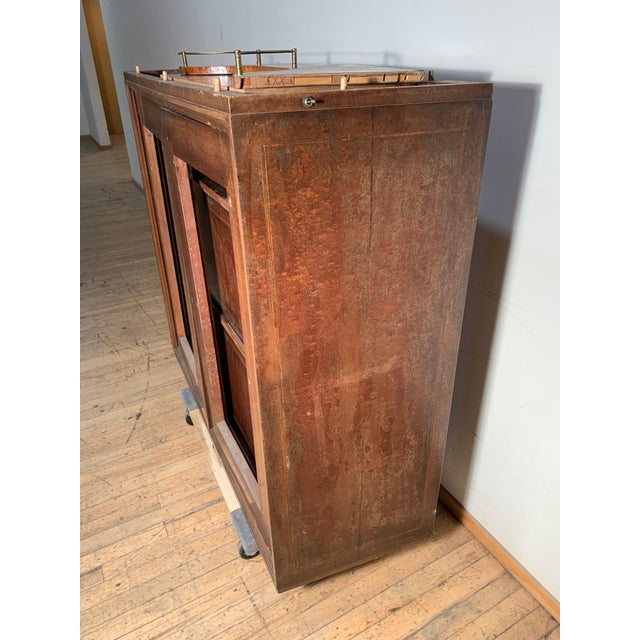 Illuminated Eugenio Diez Sideboard Cabinet For Sale - Image 9 of 13
