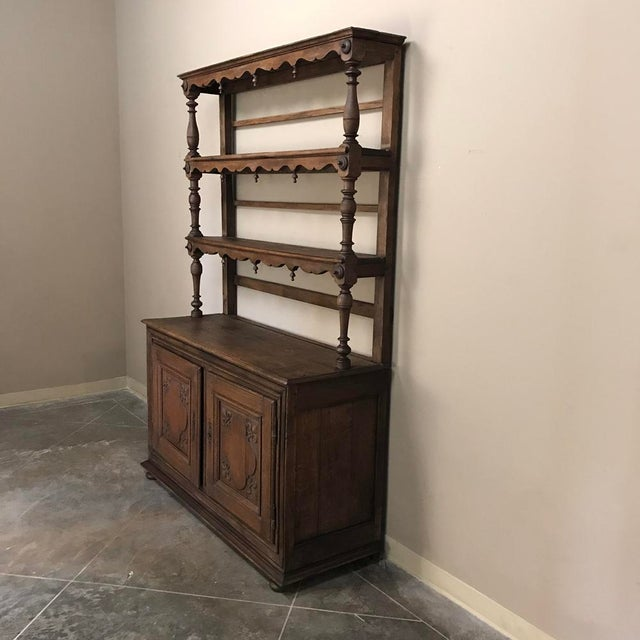 19th Century Italian Rustic Country Vaisselier For Sale In Dallas - Image 6 of 11