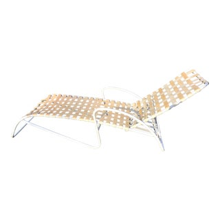 Bolero Lounge Chair Chaise by Richard Frinier for Brown Jordan