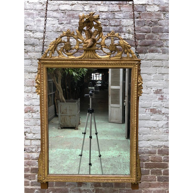 Louis XVI 18th Century Mirror For Sale - Image 6 of 9