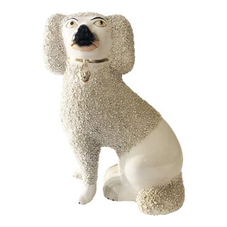 1950s Staffordshire Style Poodle For Sale