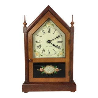 Vintage Seth Thomas Gothic Cottage Steeple Clock