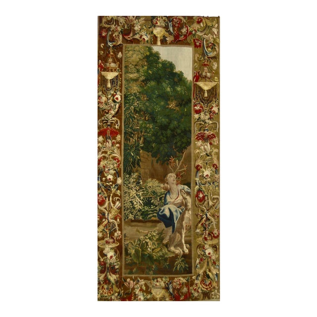 1700s Beauvais Tapestry Wall Hanging For Sale