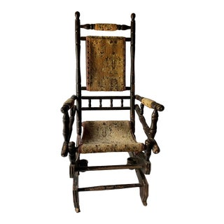 19th Century Eastlake Rocking Chair For Sale