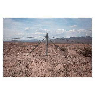 """Kipp Wettstein Field Notes """"Fence, Near Salton Sea,"""" 2014 For Sale"""