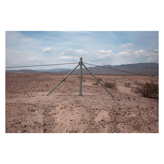 "Kipp Wettstein Field Notes ""Fence, Near Salton Sea,"" 2014 For Sale"