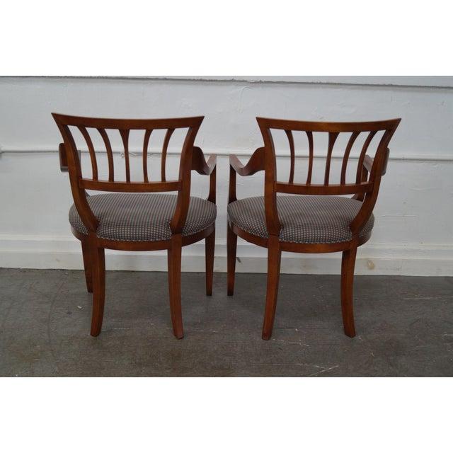 Baker Milling Road Biedermeier Style Chairs - Pair - Image 4 of 10