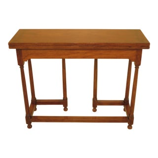 Kittinger CW-141 Mahogany Flip Top Hall Table