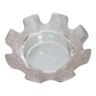 Lalique St. Nicolas Bowl For Sale