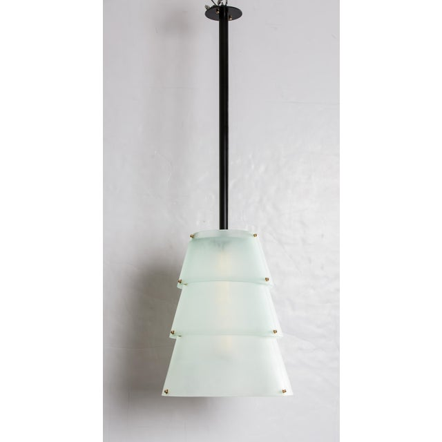 French Modernist Lucite Lanterns- A Pair - Image 4 of 10