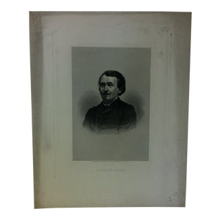 """Antique """"Gustave Dore"""" Engraving on Paper Circa 1860 For Sale"""