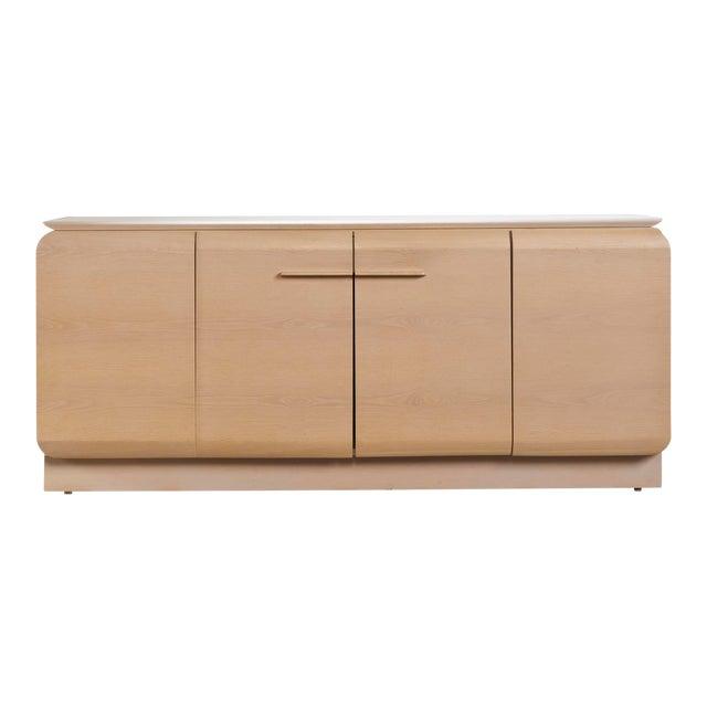 Ello Cerused Oak Cabinet For Sale